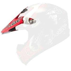 KBC Visor for Super X Helmet     /Gun Red/Black