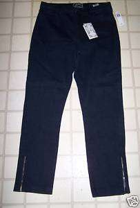 NOT YOUR DAUGHTERS JEANS NYDJ ANKLE ZIP JEAN SZ 2