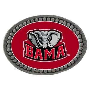 Alabama Crimson Tide NCAA Team Logo Pewter Lapel Pin