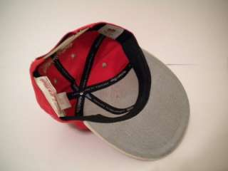 NEW MENS NFL SAN FRANCISCO 49ERS RED ADJUSTABLE FIT HAT CAP