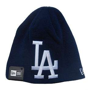 Los Angeles Dodgers Large Logo Beanie Cap Hat by New Era