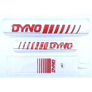 DYNO 3 Piece Nylon old school BMX Bicycle Padset   Early