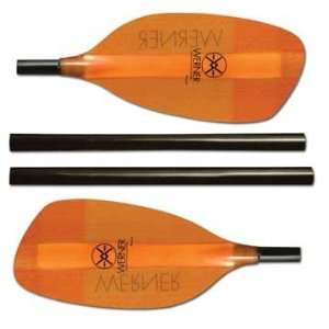 Werner Paddles Player 4 Piece Breakdown Kayak Paddle SS