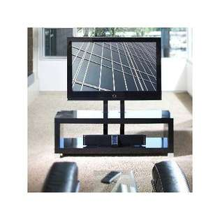 OmniMount Echo 50 Flat Panel TV Stand with Shelves in High Gloss