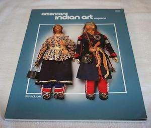Magazine   American Indian Art   Spring 2001