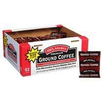 100% Arabica Premium Ground Coffee   63/1.5oz
