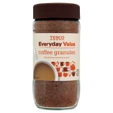 Tesco Everyday Value Coffee Granules 100G   Groceries   Tesco