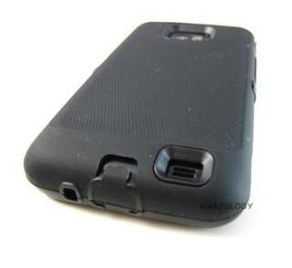 BLACK IMPACT HARD COVER CASE AT&T SAMSUNG GALAXY S II 2 i777 PHONE