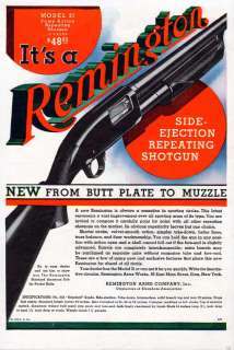 1932 REMINGTON MODEL 31 SHOTGUN AMMO SPORT HUNT SKEET