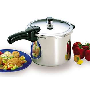 By Presto Finest By Presto 6 Qt Stainless Steel Cooker