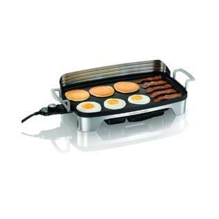 Hamilton Beach Premiere Cookware Electric Griddle at