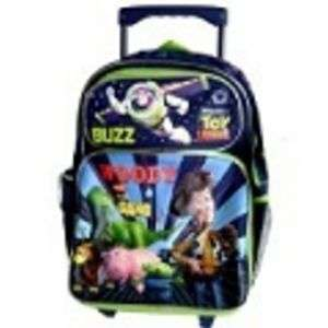 Toy Story BACKPACK Toddler Rolling school bag Luggage new