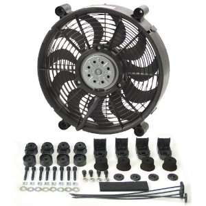 Derale 16212 12 High Output Radiator Fan Automotive