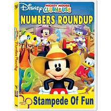 Mickey Mouse Clubhouse Mickeys Numbers Round Up DVD   Walt Disney