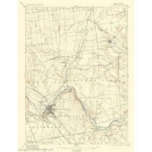 USGS TOPO MAP SCHENECTADY QUAD NEW YORK (NY) 1898 Home
