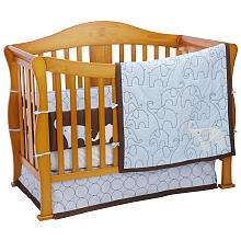 Carters Blue Elephant 4 Piece Crib Bedding Set   Carters   BabiesR