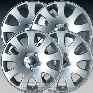 1998 2004 Audi A6 16x7 Factory Replacement Bright Sparkle Wheel Set of