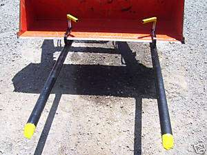 Light Duty Clamp on bucket forks pallet loader tractor