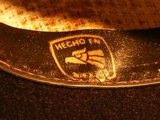 BLACK FELT COWBOY HAT SIZE 6 7/8 HECHO EN MEXICO
