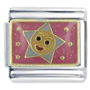 Twinkle Little Star Italian Charms Bracelet Link Pugster Jewelry