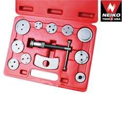 Neiko 12 Pcs Disc Brake Caliper Auto Wind Back Tool Kit