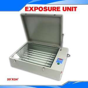 UV Exposure Unit Screen Printing Machine with Cover & 8 Tubes