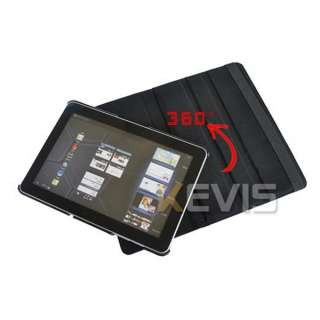 Leather Cover Case Stand Samsung Galaxy Tab 10.1 P7500 P7510 B