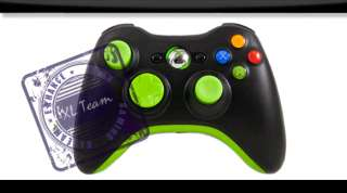 XBOX 360 RAPID FIRE GREEN MODDED CONTROLLER GEARS 3 BLACK OPS GOW 3