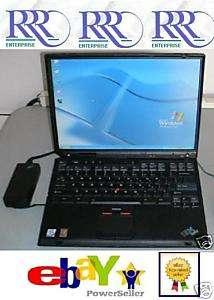 MINT IBM T30 2GHz 14.1 XGA 1Gb 40Gb DVD CDRW WiFi B AC