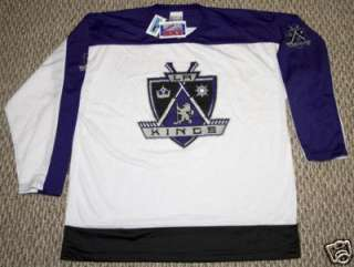 NHL LICENSED LOS ANGELES KINGS JERSEY MENS SIZE L