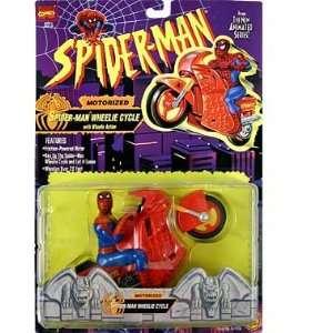 Spider Man (Toy Biz) Spider Man (Wheelie Cycle) Motorized