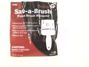 Sav A Brush Paint Brush Restorer By Red Devil 3oz 0103