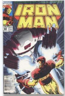 TO SEE ALL THE IRON MAN COMIC BOOKS I HAVE FOR SALE.