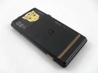 1980s Transformers G1 Gold Metallic Autobot Logo Cell Phone (Mobile