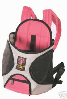 OUTWARD HOUND PINK PET A ROO FRONT STYLE DOG CARRIER