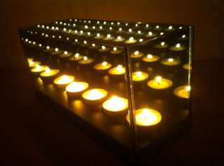 MAGIC MIRROR ILLUSION BOX 5 CANDLE INFINITY LIGHT