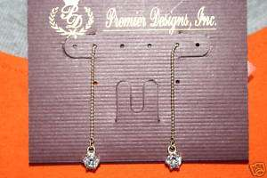 Premier Designs Threads pierced earrings (RV $19)