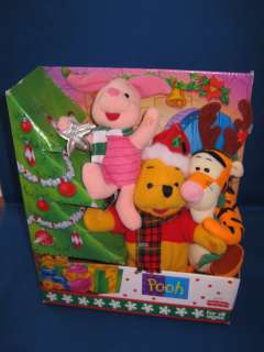Winnie The Pooh Tigger Piglet Fisher Price Plush Stuffed Animal