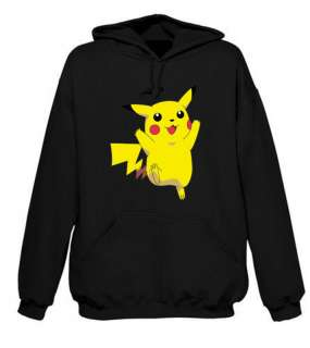 POKEMON PIKACHU HOODIE NAME 0N BACK AGE 5 15