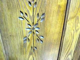 Antique Arts & Crafts Kitchen Cabinet Primitive Style