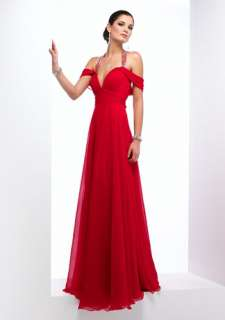 Red slim Evening Gown/Prom Ball/gown/dress 4 6 8 10 28