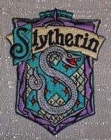 Harry Potter House of SLYTHERIN Crest PATCH   New