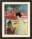 Eclatante Framed Giclee Print by Manuel Robbe