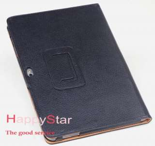 Samsung Galaxy Tab Tablet 10.1 GT  P7510 Leather Case Stand Cover