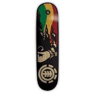 Element Skateboards LOYALTY LION RASTA Skateboard Deck 8