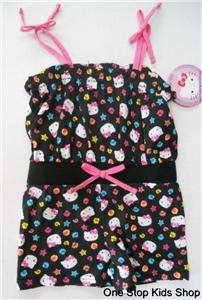 Girls 24 Mo 2T 3T 4T 5T Set Outfit JUMPER Romper Shirt Shorts