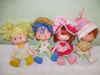 LOT 13 Vintage 1979 STRAWBERRY Shortcake & FRIENDS American GREETINGS