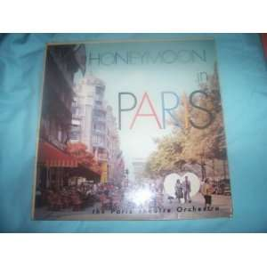 PARIS THEATRE ORCHESTRA Honeymoon in Paris LP 1959: Paris