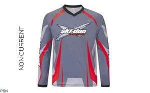 SKI DOO MENS SNO X FIGHTER JERSEY NEW RED 453454