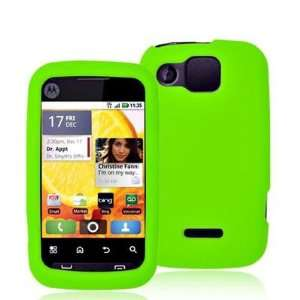 Neon Green Silicone Rubber Gel Soft Skin Case Cover for